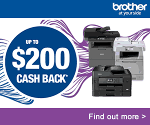 Brother Rapid Cash Back