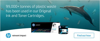 HP and sustainability, click to find out more