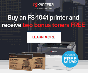 Kyocera Bonus Toners Offer