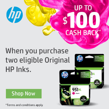 HP Cash Back Promotion