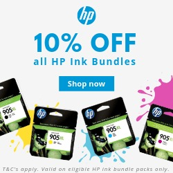 Bundle and Save with discounts on HP ink bundles