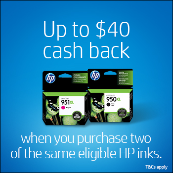 HP XL Cash Back Promotion