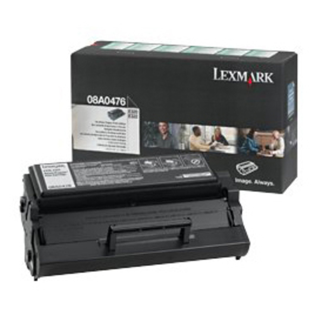 Lexmark 08A0476 Black Prebate Toner Cartridge