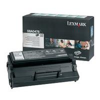 Lexmark 08A0478 Black Prebate Toner Cartridge - High Yield
