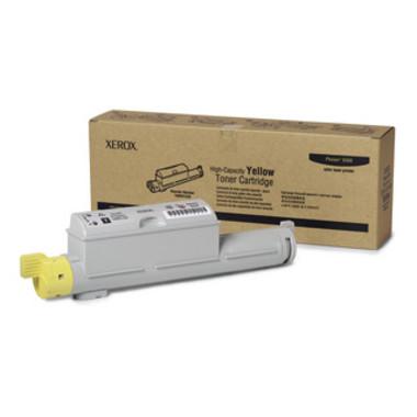 Fuji Xerox 106R01220 Yellow Toner Cartridge - High Yield