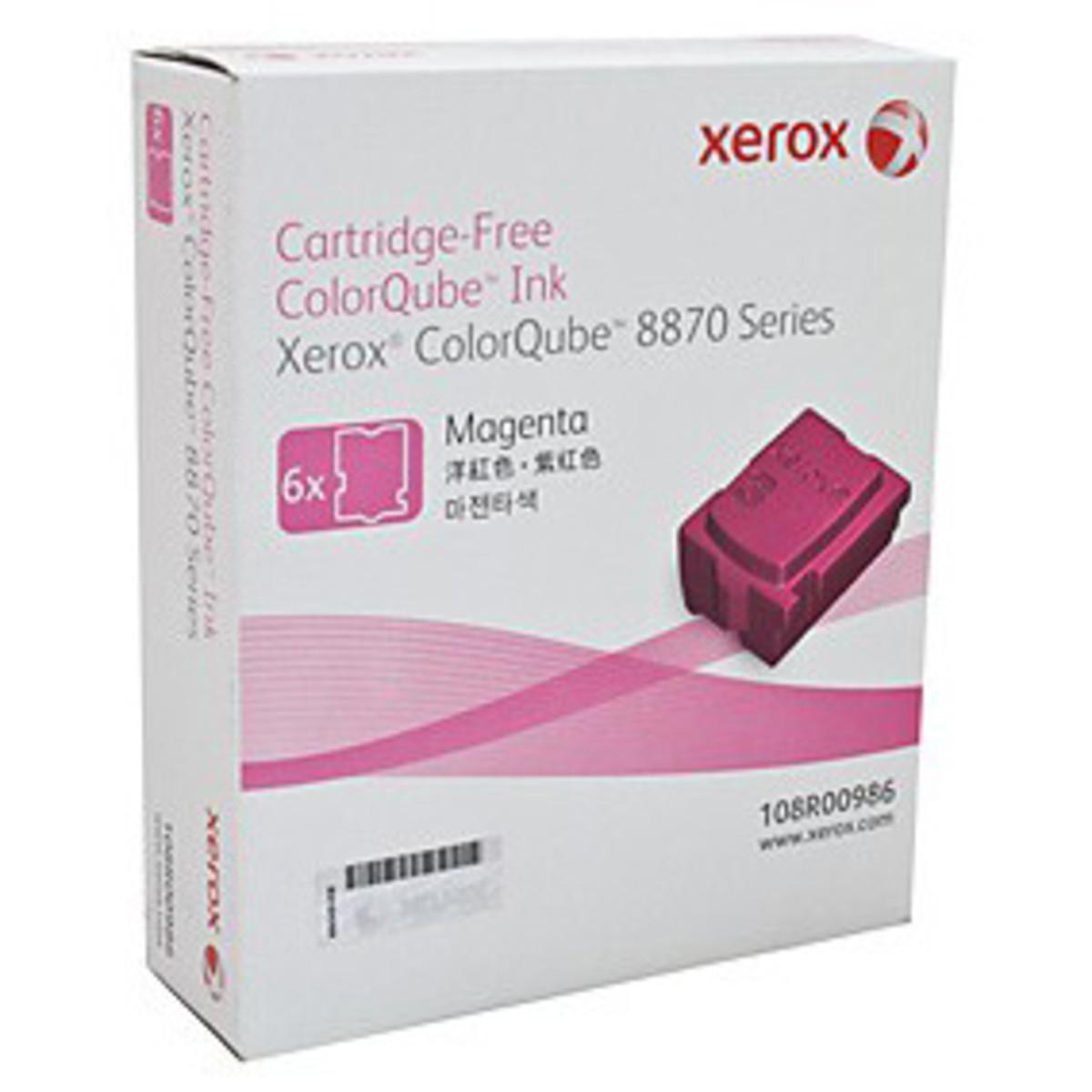 Xerox 108R00986 Magenta Solid Ink - 6 Pack