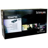 Lexmark 12A4710 Black Prebate Toner Cartridge
