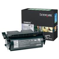Lexmark 12A6835 Black Toner Cartridge (Original)