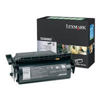 Lexmark 12A6860 Black Prebate Toner Cartridge