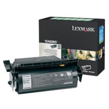 Lexmark 12A6865 Black Toner Cartridge (Original)