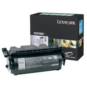Lexmark 12A7460 Black Toner Cartridge (Original)