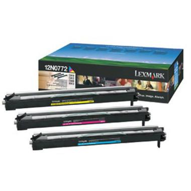 Lexmark 12N0772 Colour Photo Developer Kit