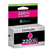 Lexmark 220XL Magenta Ink Cartridge - High Yield