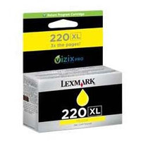 Lexmark 220XL Yellow Ink Cartridge - High Yield