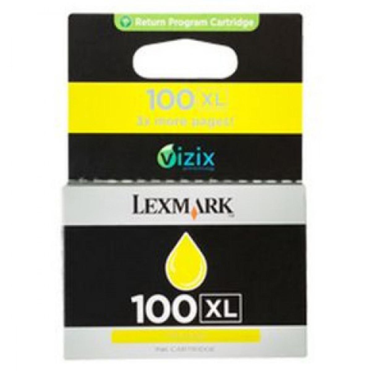 Lexmark 100XL Yellow Ink Cartridge - High Yield
