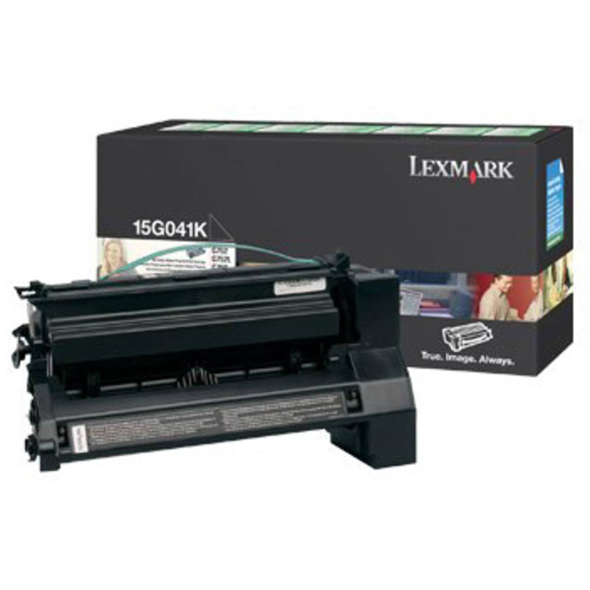 Lemark 15G041K Black Prebate Toner Cartridge