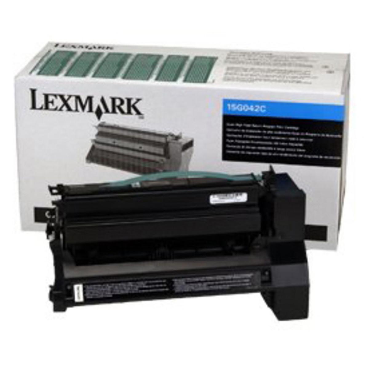 Lemark 15G042C Cyan Toner Cartridge - High Yield