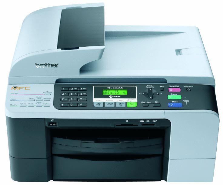 Brother MFC 5860cn Inkjet Printer