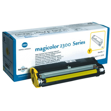 Konica Minolta Yellow Toner Cartridge (Original)