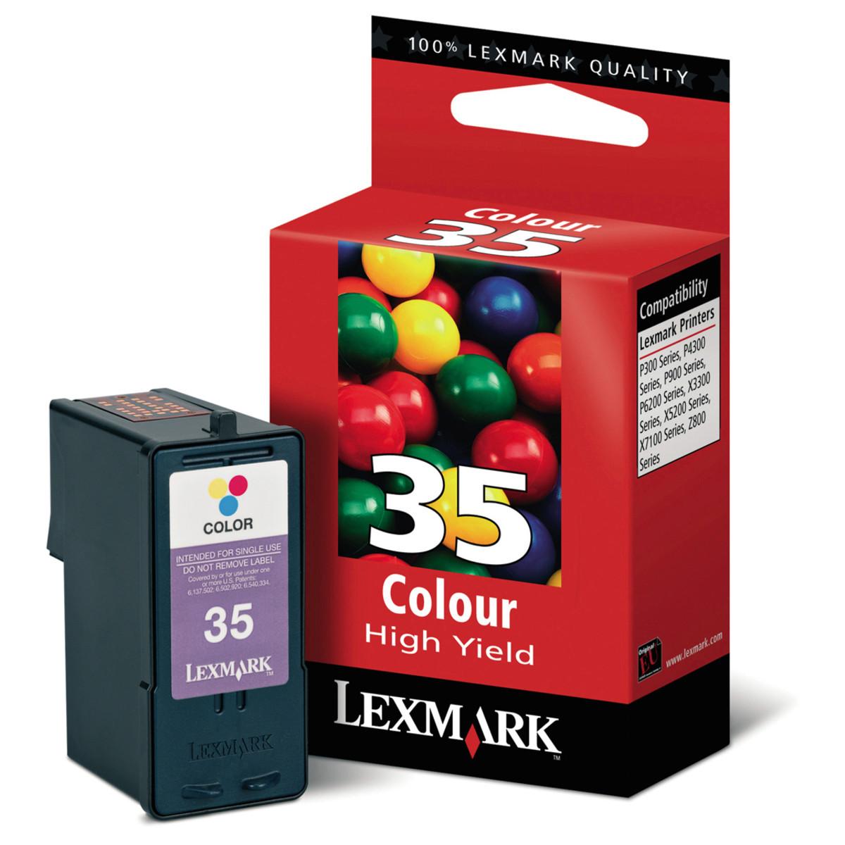 Lexmark 35 Colour Ink Cartridge