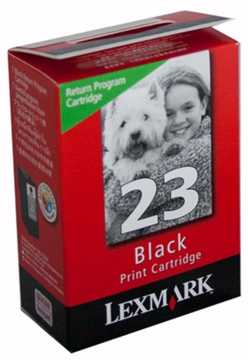 Lexmark 23 Black Ink Cartridge