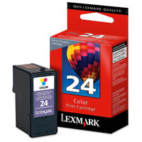 Lexmark 24 Colour Return Program Ink Cartridge