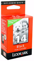 Lexmark 14 Black Return Ink Cartridge