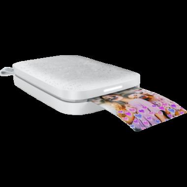 HP Sprocket 200 Photo Printer in Luna White