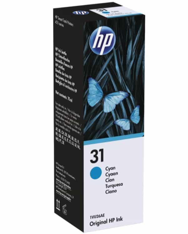 HP 31 Cyan Ink Cartridge (Original)
