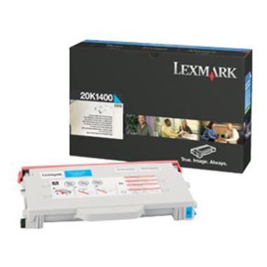 Lexmark 20K1400 Cyan Toner Cartridge (Original)