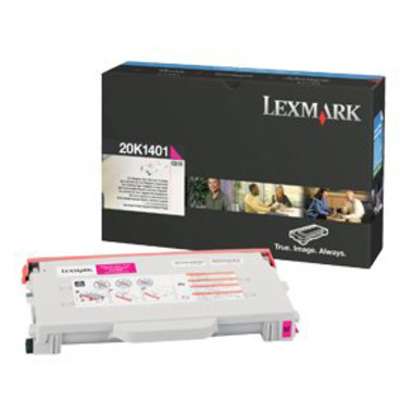 Lexmark 20K1401 Magenta Toner Cartridge (Original)