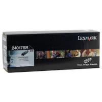 Lexmark 24017SR Black Prebate Black Toner Cartridge
