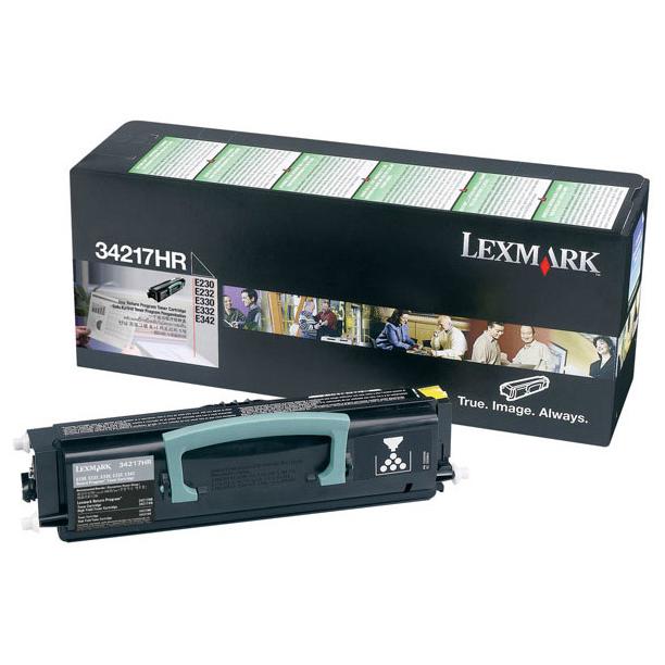 Lexmark 34217HR Black Toner Cartridge (Original)
