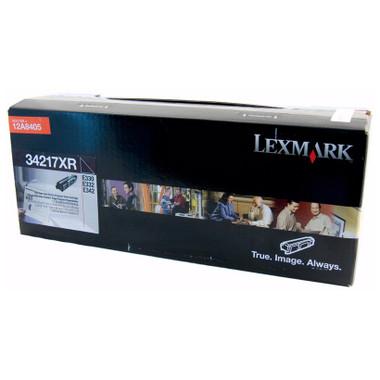 Lexmark 34217XR Black Toner Cartridge (Original)