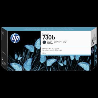 HP 730B 300-ml Matte Black DesignJet Ink Cartridge