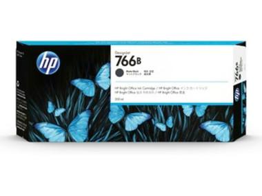HP 766B 300-ml Matte Black DesignJet Ink Cartridge
