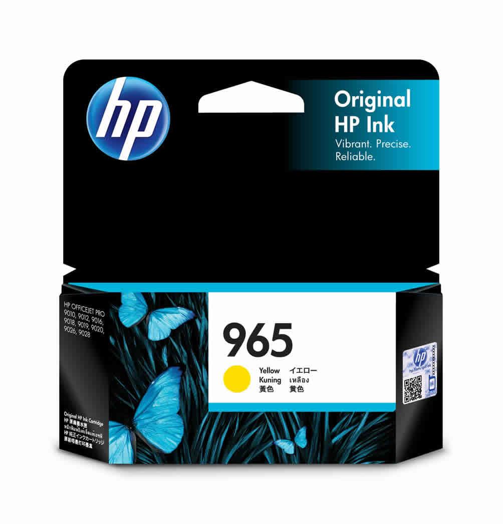 HP 965 Yellow Ink Cartridge (Original)