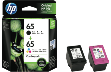HP 65 Tri-Colour Ink Cartridge (Original)