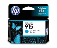 HP 915 Cyan Ink Cartridge (Original)