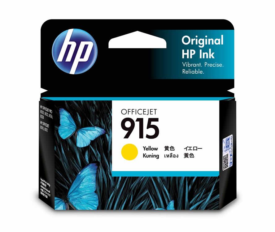 HP 915 Yellow Ink Cartridge (Original)