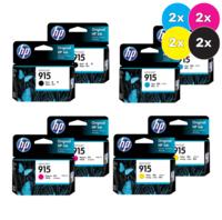 HP 915 Standard Bundle Pack (8)