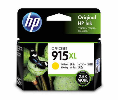 HP 915XL Yellow Ink Cartridge (Original)