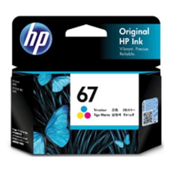 HP 67 Tri-Colour Ink Cartridge (Original)