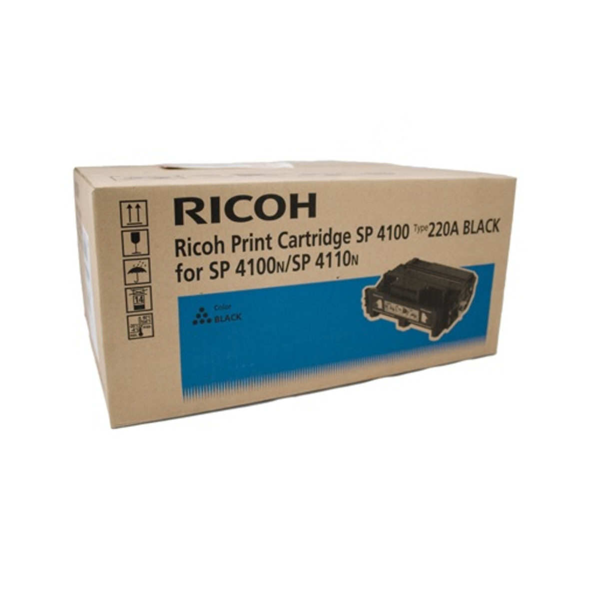 Ricoh 407009 Black Toner Cratridge