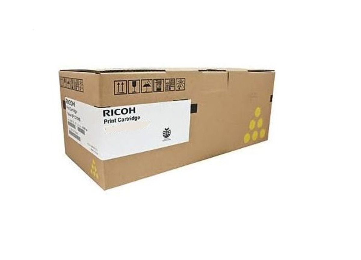 Ricoh 407550 Yellow Toner Cartridge