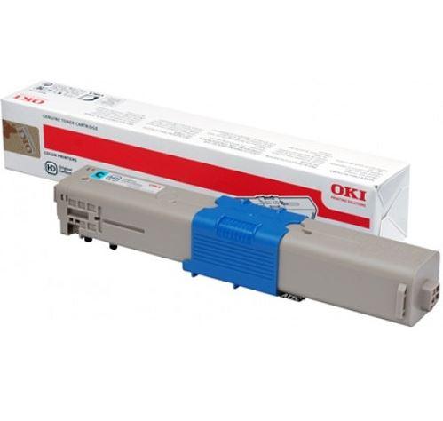 OKI C301 Cyan Toner Cartridge (Original)