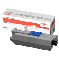 OKI C301 Black Toner Cartridge (Original)