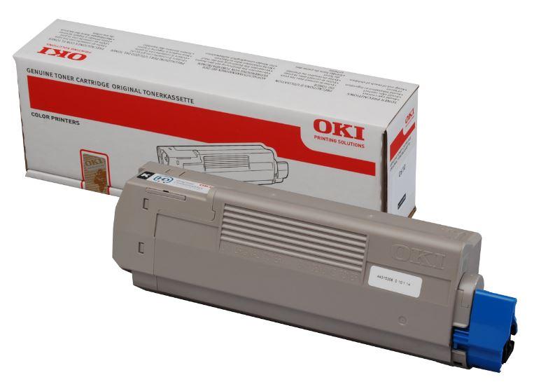 OKI C911 Cyan Toner Cartridge (Original)