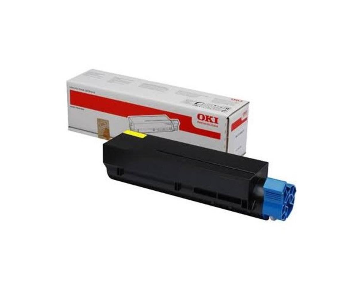 OKI 45862841 Yellow Toner Cartridge