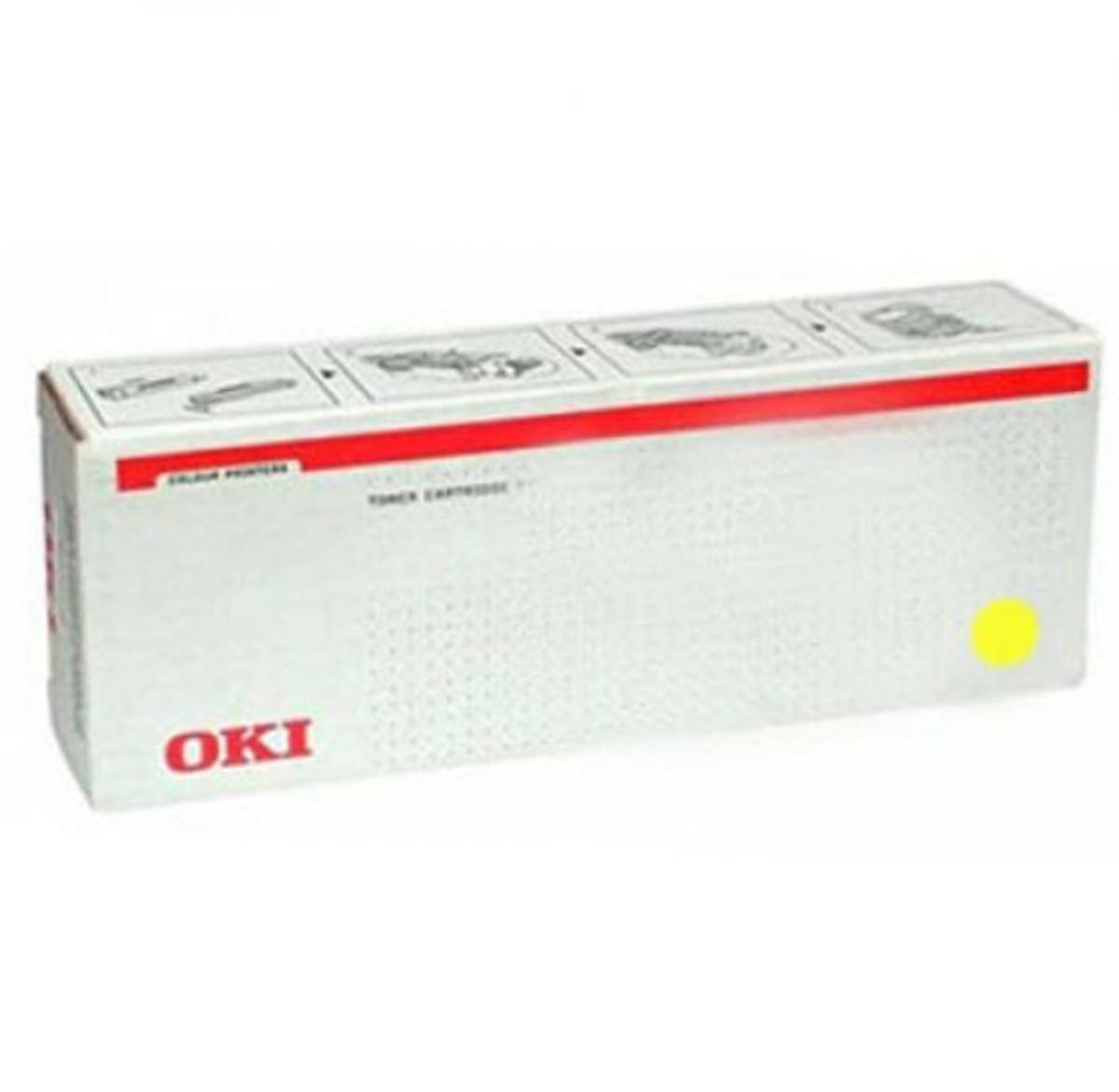 Oki 46508717 Yellow Toner Cartridge